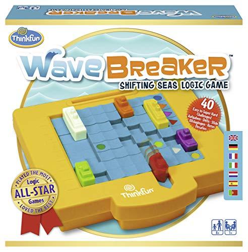 Ravensburger 76332 ThinkFun Wave Breaker Spiel - Smart Game (Gravity Maze)