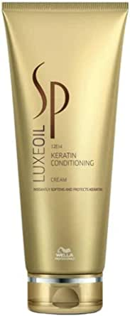 Wella System Professional - Crema Luxe Oil Keratin Conditioning - Linea Sp Luxe Oil Collection - 200ml