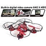 Top Race® TR-Q510 Quadkamera,Drohne, D4-Kanal Quadkopter mit eingebauter Kamera