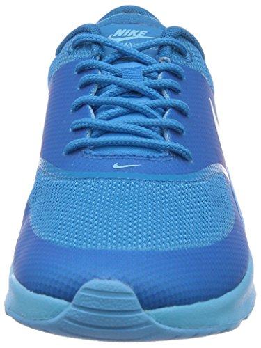 Nike Air Max Thea, Sneakers Basses femme Bleu - Blau (Clearwater/Lt Blue Lacquer)