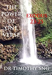 The Power of One Verse   Exodus 23:25 (English Edition)