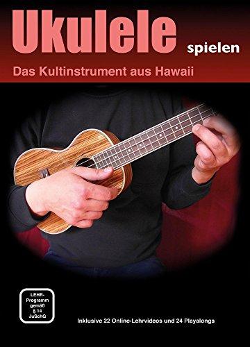 Michael Schwager und Klaus Reichardt - Ukulele spielen, Ukulelenschule für Anfänger (inkl. Online-Lehrvideos, Playalongs, Format DIN A4, 26 Seiten)