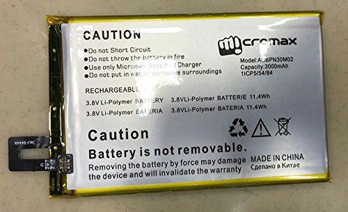 LilyPin Mobile Battery Micromax Canvas Mega 2 Q426 3000mAh - Battery