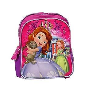 """51knQ%2BdqmoL. SS300  - Disney Princesa Sofía la Primera ámbar pequeño 12""""–Mochila marca nueva–con licencia"""