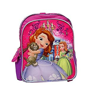 Disney Princesa Sofía la Primera ámbar pequeño 12»–Mochila marca nueva–con licencia