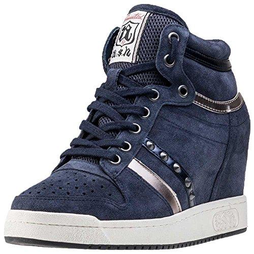 Ash Scarpe Prince Bis Midnight Sneaker Donna 37 EU Midnight Blu