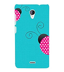 Honey Bee 3D Hard Polycarbonate Designer Back Case Cover for Micromax Canvas Unite 2 A106