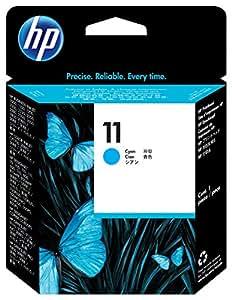 HP 11 Tête d'impression d'origine Cyan