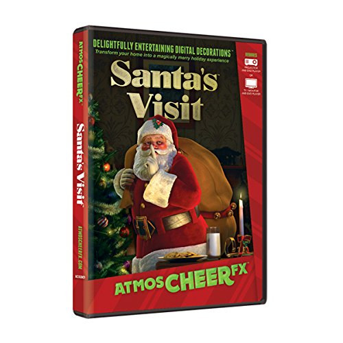AtmosCHEERfx Santa's Visit Holiday Digital Decorations