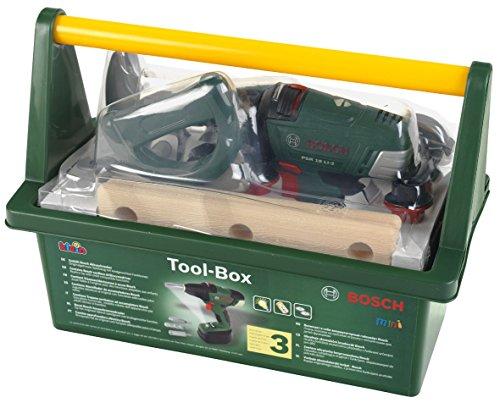 Preisvergleich Produktbild Theo Klein 8520 - Bosch Tool Box mit Akkuschrauber, Baukästen