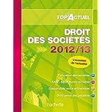 TOP'Actuel Droit des Sociétés 2012-2013