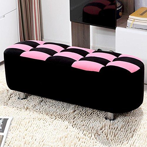 Duo  Computer Tisch Im europäischen Stil Tuch Schuhe für Hocker Sofa Hocker Bett Hocker Bank Hocker Test Hocker Sofa Hocker (Farbe, Größe wahlweise freigestellt) dauerhaft