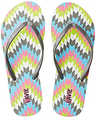 Lavie Women's Grey Flip-Flops and House Slippers - 3 UK/India (36 EU)