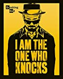 empireposter - Breaking Bad - I Am The One Who Knocks - Größe (cm), ca. 40x50 - Mini-Poster, NEU -
