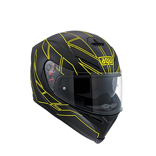 AGV - Casco de moto K-5 S E2205 Multi PLK, modelo Hero, color negro y