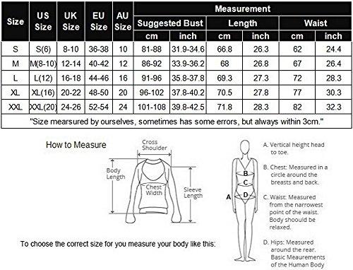 Avidlove Damen Body mit V-Ausschnitt, Spitze - Pink - XX-Large - 7