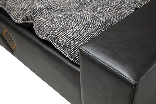 Hundesofa Hundebett Katzenbett DOG & CAT -NEU- XXL Kunstleder Luxus Couch - 4