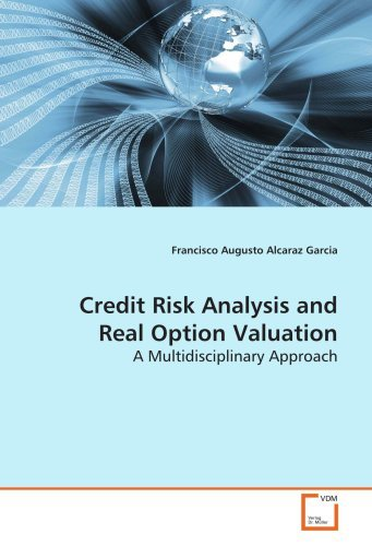 Credit Risk Analysis and Real Option Valuation: A Multidisciplinary Approach by Francisco Augusto Alcaraz Garcia (2008-12-30)