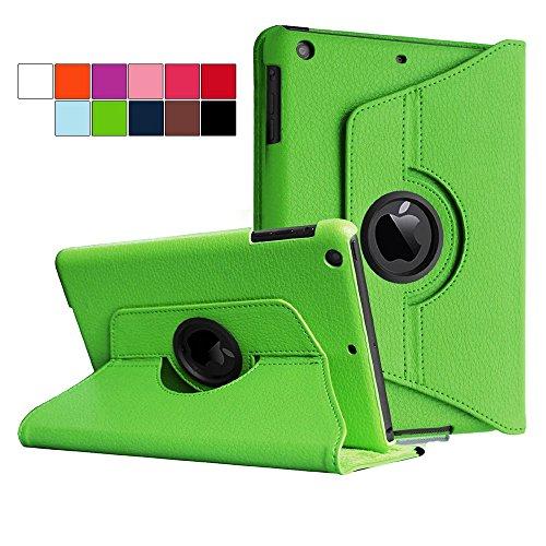 COOVY® Cover für Apple iPad mini 1 / 2 / 3 ROTATION 360° SMART HÜLLE TASCHE ETUI CASE SCHUTZ STÄNDER   Farbe grün