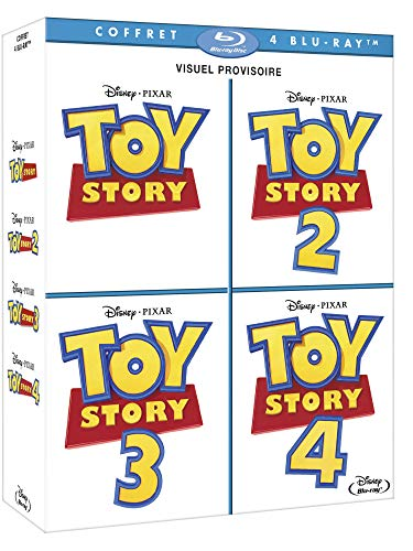 Coffret toy story 1 à 4 [Blu-ray] [FR Import]