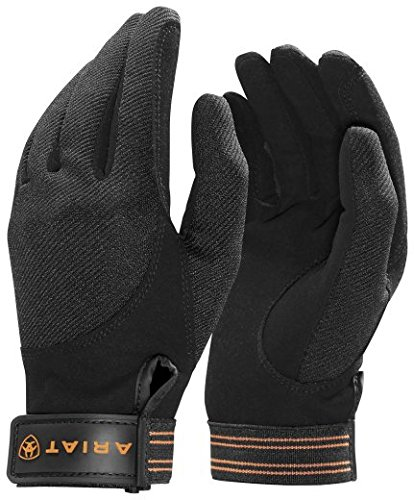 ARIAT TEK Grip REIT Handschuhe, schwarz, 11