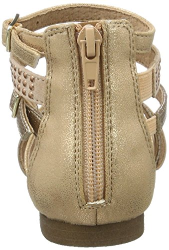 Bullboxer Aed031f1s, Sandales  Bout ouvert fille Beige (peach)
