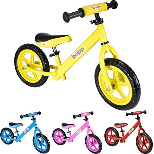 boppi® Bicicleta sin pedales de metal para niños de 2-5 anos - Amarilla