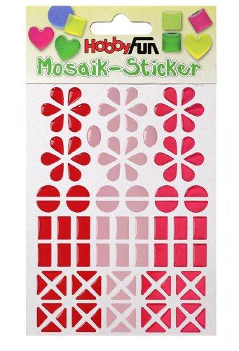 MOSAIK Sticker Design II * rosa - pink - rot * Aufkleber 3451811 -