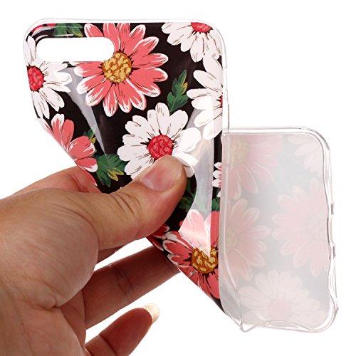 Custodia iPhone 7 / 8 Plus - Cover in Silicone TPU - Surakey iPhone 7 Plus Custodia Slim Ultra Sottile Gomma Morbida Gel Case Frasi 3D Modello di Colorate Antigraffio Antiurto Protezione Posteriore Ca Modello#9