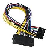 bgning 24P a 14pines ATX de 24pines Cable adaptador de cable de alimentación para Lenovo IBM Dell H81A75B75placa base de escritorio PC placa base