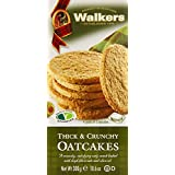 Walkers Shortbread Thick and Crunchy Oat Cakes 300 g (Pack of 12)