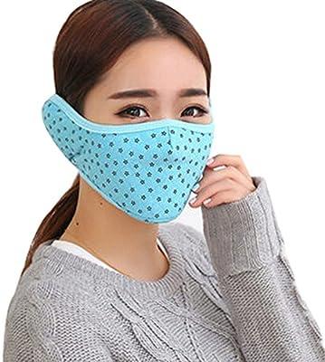 Art und Weise Baumwolle Winter Radfahren Masken Skimaske Warme Maske Blau