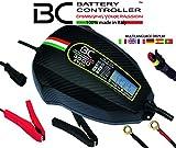 BC Battery Controller BC 3500 EVO+, Caricabatteria e Mantenitore Digitale/LCD, Tester di Batteria e Alternatore per tutte le batterie Auto e Moto 12V Piombo-Acido, 3.5A/1A