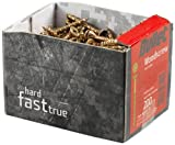 Bullet - Caja de tornillos para madera, 4 x 70 mm, 160 unidades