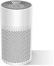 Mini Portable Air Purifier for Home Bedroom Office Desktop Pet Room Air Cleaner for Car with True HEPA Filters
