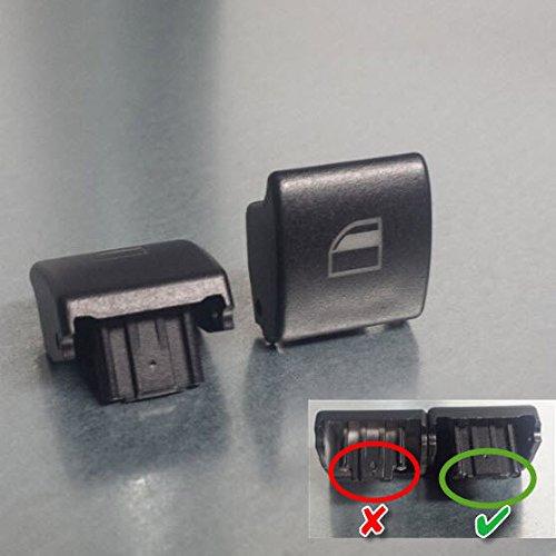 1 Stück Fensterheber Schalter Taster Schalter Knopf für BMW 3er E46 X5 e53 x3