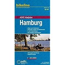 Bikeline ADFC-Radplan Hamburg 1 : 20 000, GPS-tauglich mit UTM-Netz
