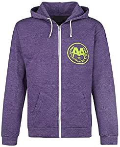 Asking Alexandria Eyeballs Hooded zip mixed lilac M