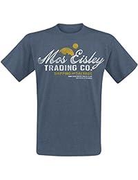 Star Wars Mos Eisley Trading T-Shirt blau meliert