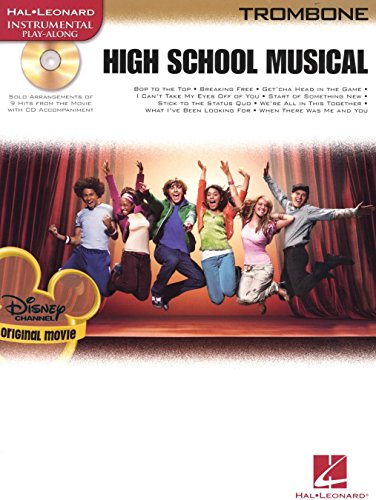 High School Musical - Selections (Trombone). Partitions, CD pour tombón