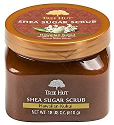 Tree Hut Shea Sugar Scrub, Hawaiian Kukui, 18 Oz