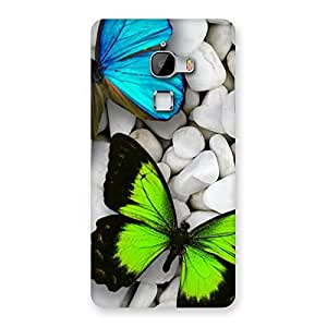 Premier Butterflies Designer Back Case Cover for LeTv Le Max