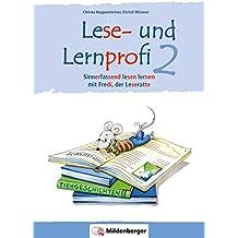 Lese- und Lernprofi 2 – Schülerarbeitsheft – silbierte Ausgabe: Sinnerfassend lesen lernen mit Fredi, der Leseratte, Klasse 2 (Lese- und Lernprofi / blau/rot silbiert)
