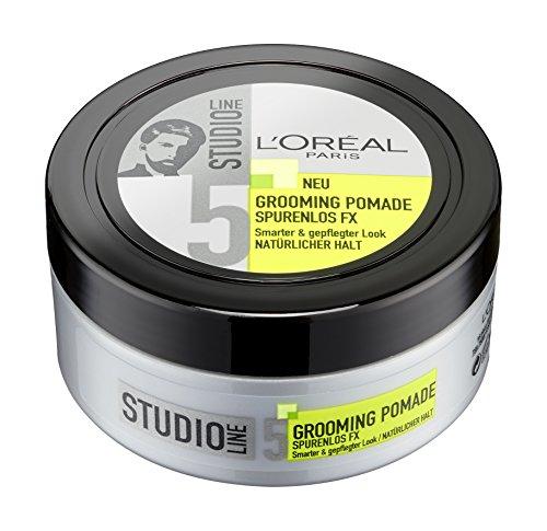 L'Oréal Paris Studio Line Spurenlos FX Grooming Pomade Natürlicher Halt, 6er Pack (6 x 75 ml)