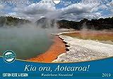 Kia ora, Aotearoa - Wunderbares Neuseeland (Wandkalender 2019 DIN A4 quer): Neuseeland - Mittelerde - das schönste Ende der Welt! (Monatskalender, 14 Seiten ) (CALVENDO Orte)