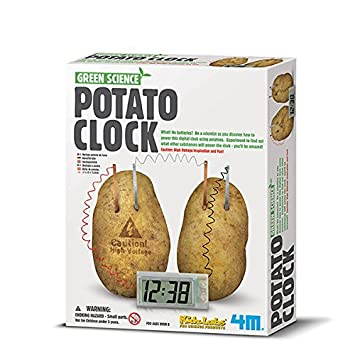 4m Green Science Potato Clock Great Gizmos Amazon Co Uk Toys Games