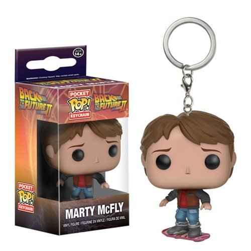 Preisvergleich Produktbild Back to the Future Marty on Hoverboard Pocket Pop! Key Chain by Back To The Future