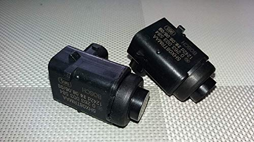HERCHR Einparkhilfe Original Bosch PDC Parksensor Rückfahrkamera Kabellos für Jeep Cherokee & Commander 5HX08TRMAA