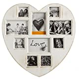 Portafoto Vintage Antique Heart (10 foto)