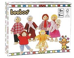 beeboo 32306 - Familia para casita de muñecas